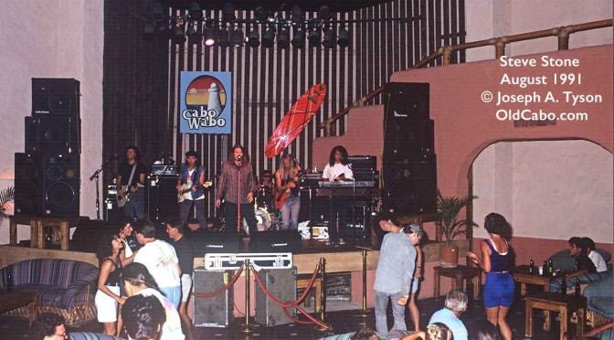 Steve Stone at Cabo Wabo 1991