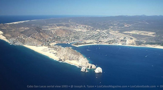 Aerial View of Cabo San Lucas 1993