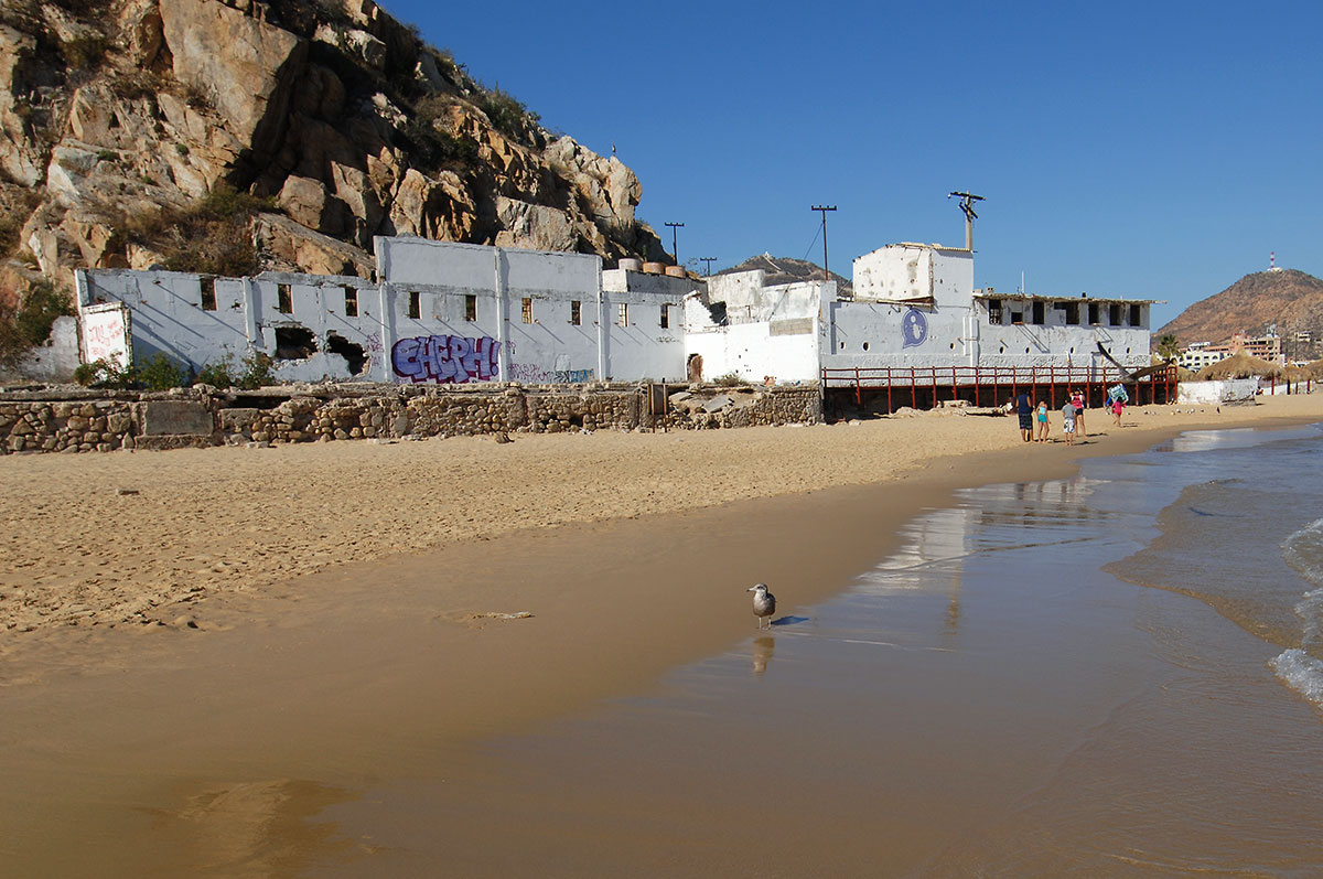 Remains of the old tuna cannery in Cabo San Lucas. Photo February 2014 by Joseph A. Tyson