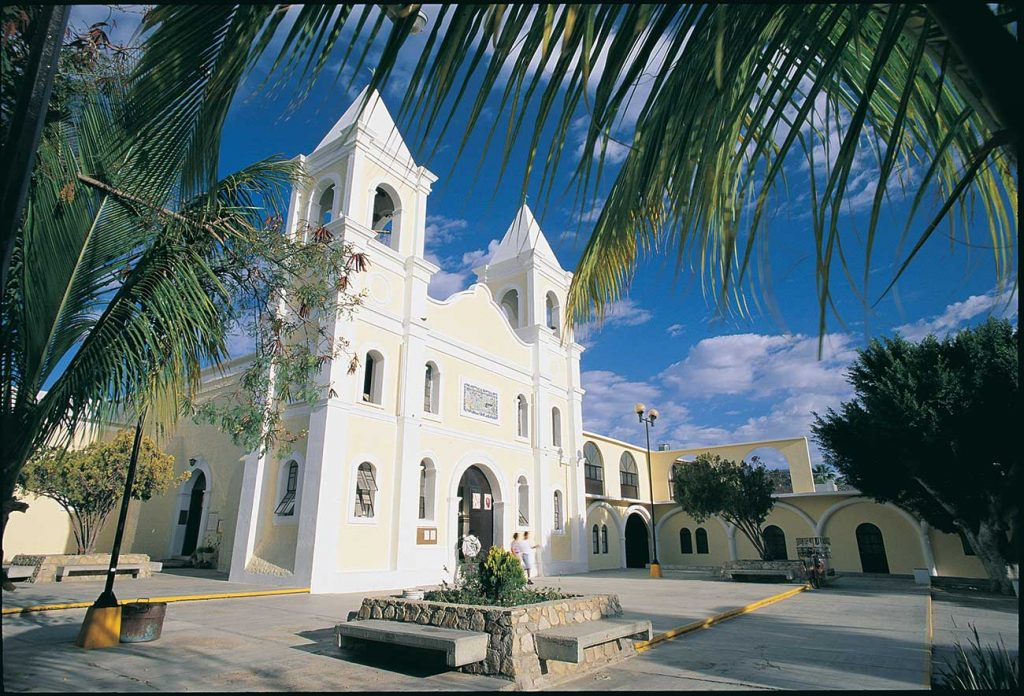 Catholic Church in San Jose del Cabo, circa 1990's