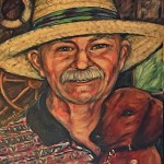 Painting of Clifford W. Ferguson, Cabo San Lucas c. 2006