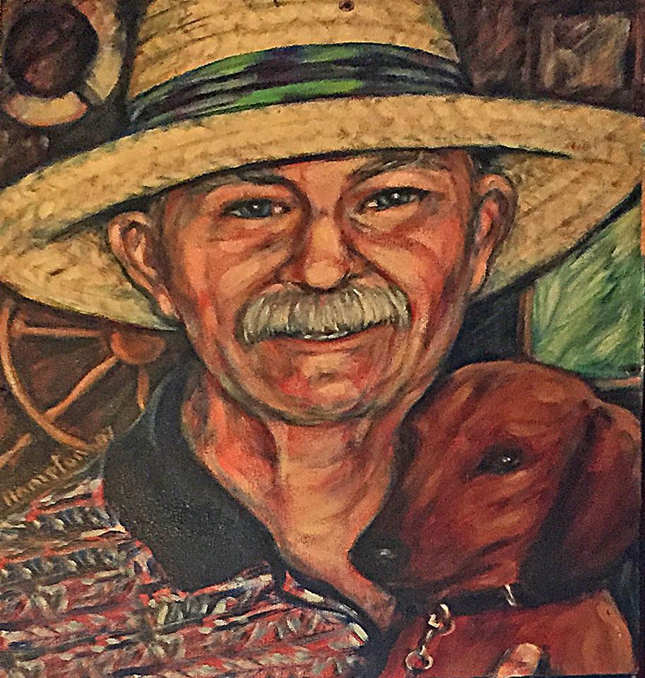 Painting of Cliff W. Ferguson c. 2006