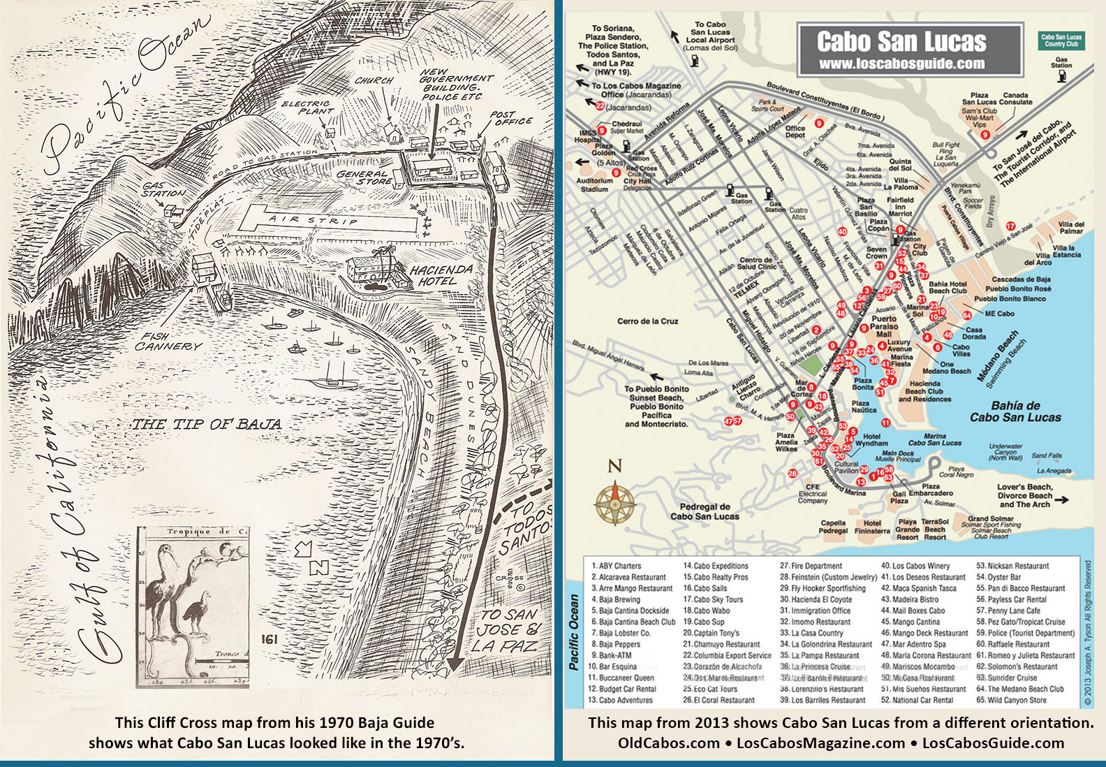 Maps – Old Cabo Cabo San Lucas Map on