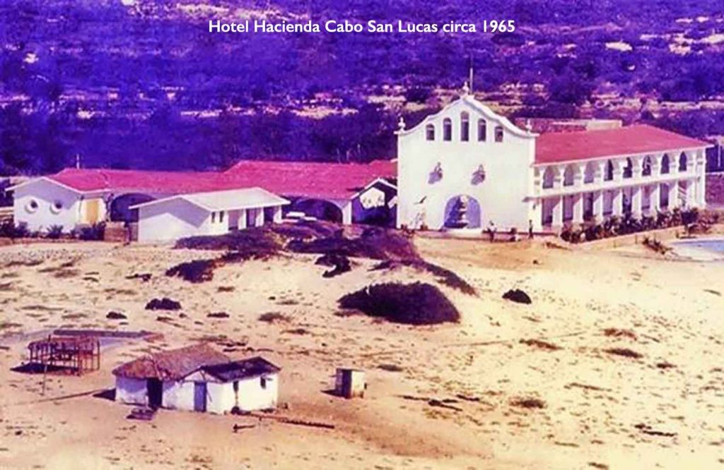 Hotel Hacienda Cabo San Lucas Photo c1965