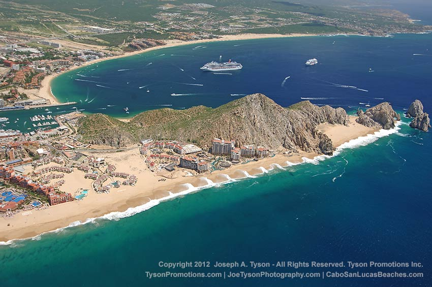 Cabo San Lucas Pacific beaches 2012
