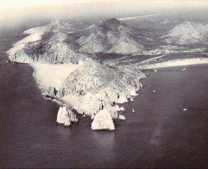 Lands End Cabo aerial view c1970