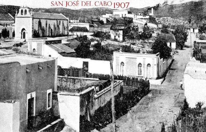 San Jose del Cabo 1907. https://www.facebook.com/pages/ASOCIACION-DEL-CENTRO-HISTORICO-DE-SAN-JOSE-DEL-CABO-AC/85994557381