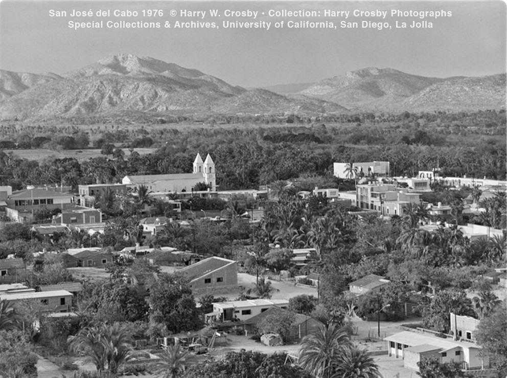 San José del Cabo 1976  © Harry W. Crosby • Collection: Harry Crosby Photographs Special Collections & Archives, University of California, San Diego, La Jolla