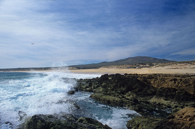 Photograph of Shipwreck Beach (Playa Barco Varado) were taken during November 1989 by Joseph A. Tyson