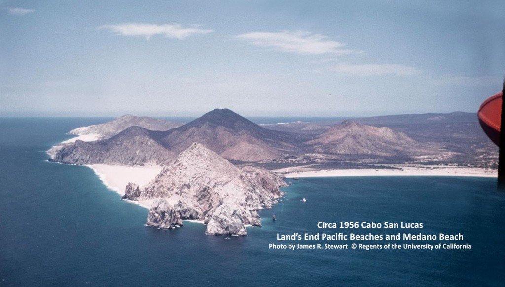 Circa 1956 Cabo San Lucas Land's End Pacific Beaches and Medano BeachPhoto by James R. Stewart  © Regents of the University of California