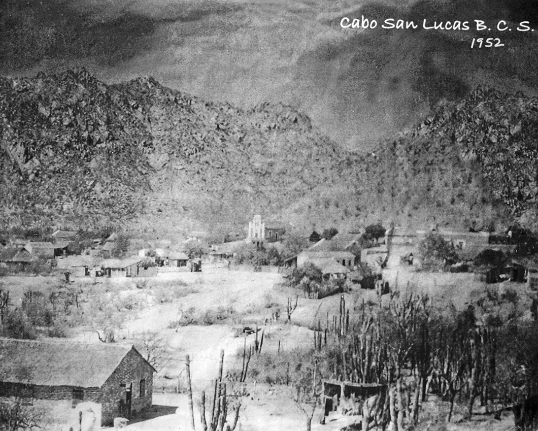 1952 - downtown area of Old Cabo San Lucas