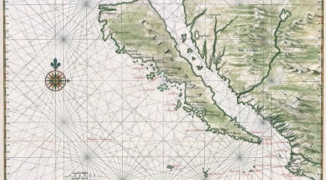 Island of California Map