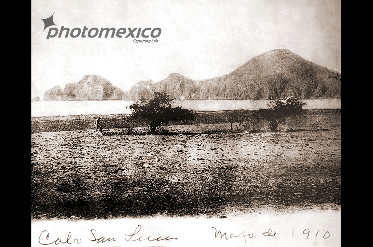View of Land's End Cabo San Lucas, May 1910. Photo courtesy PhotoMexico.com