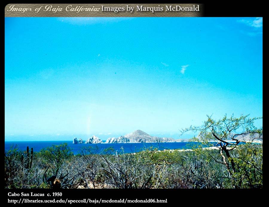 Cabo San Lucas  c. 1950.  http://libraries.ucsd.edu/speccoll/baja/mcdonald/mcdonald06.html