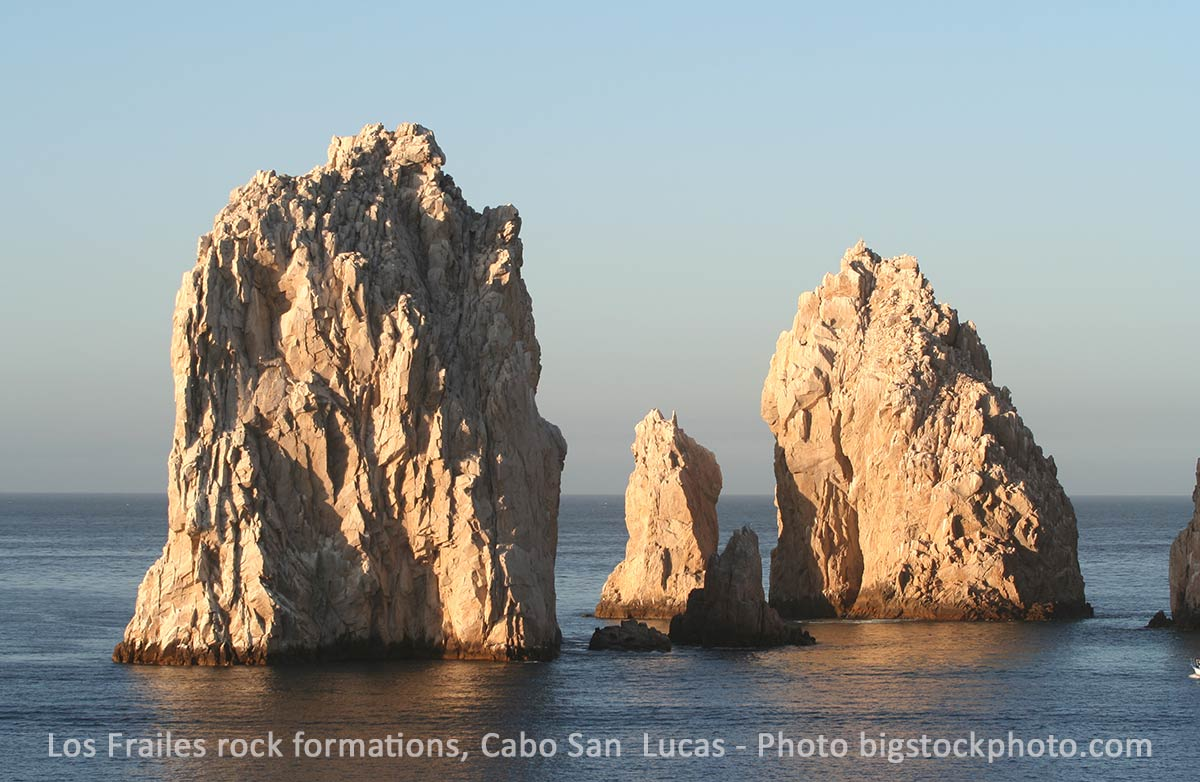 Formation of three rock, Cabo San Lucas - Photo Bigstockphoto.com - alysta