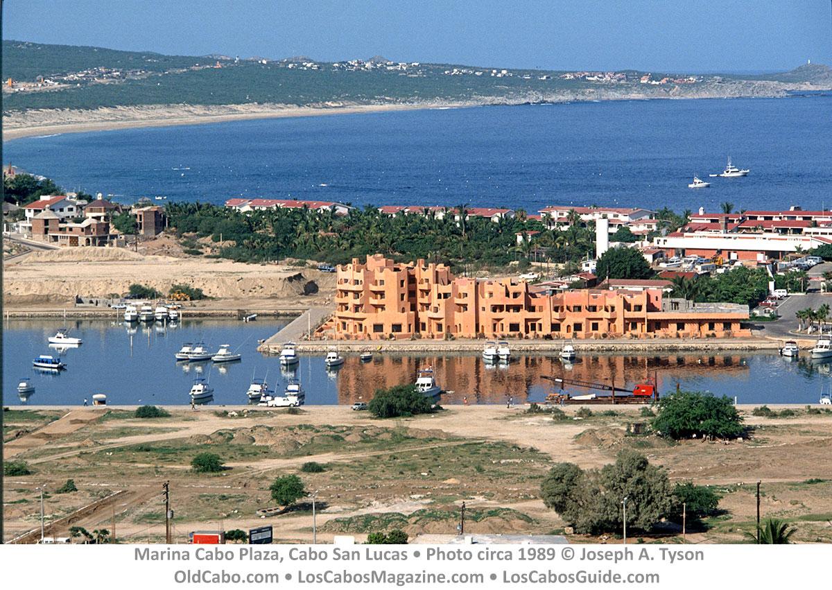 Marina Cabo Plaza, Cabo San Lucas • Photo circa 1989 © Joseph A. Tyson.