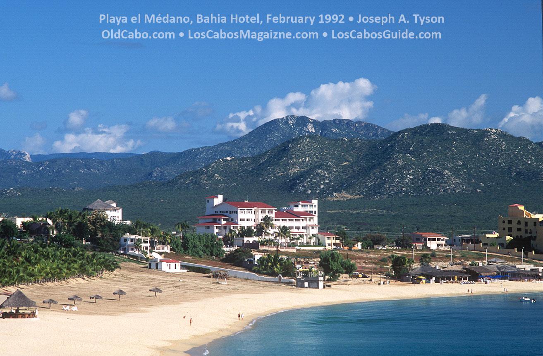 Playa el Médano, Bahia Hotel, February 1992 • Joseph A. Tyson