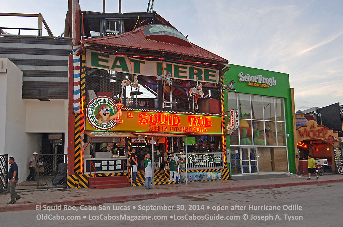 Squid Roe, Septeber 30, 2014, open after Hurricane Odille.