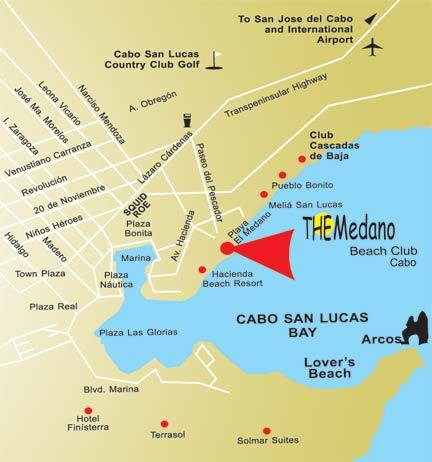 Old Medano Beach Club map