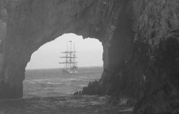 Spanish Galeon Santana sunk in Cabo 1586