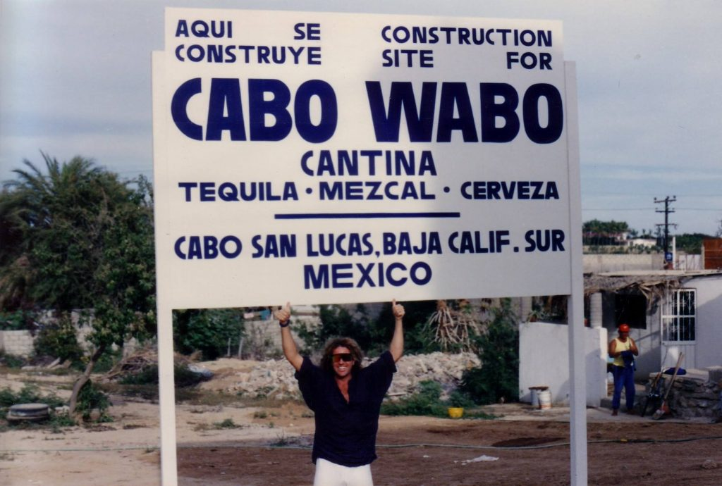 Cabo San Lucas Construction site of Cabo Wabo