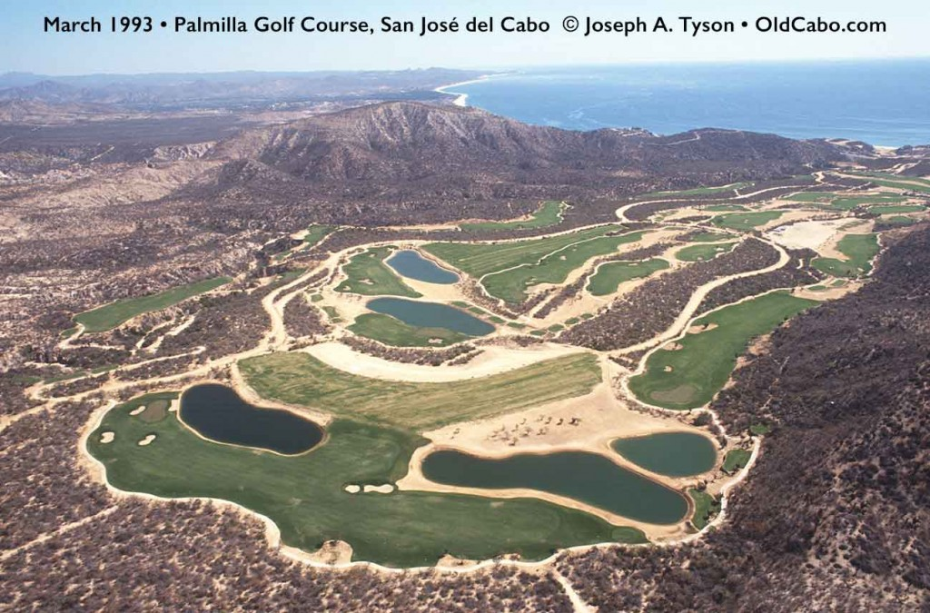 March 1993, aerial view of Palmilla golf course.