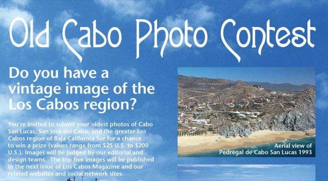 Old Cabo Photo Contest Starts