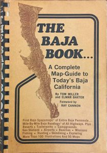 The Baja Book by Tom Miller and Elmar Baxter