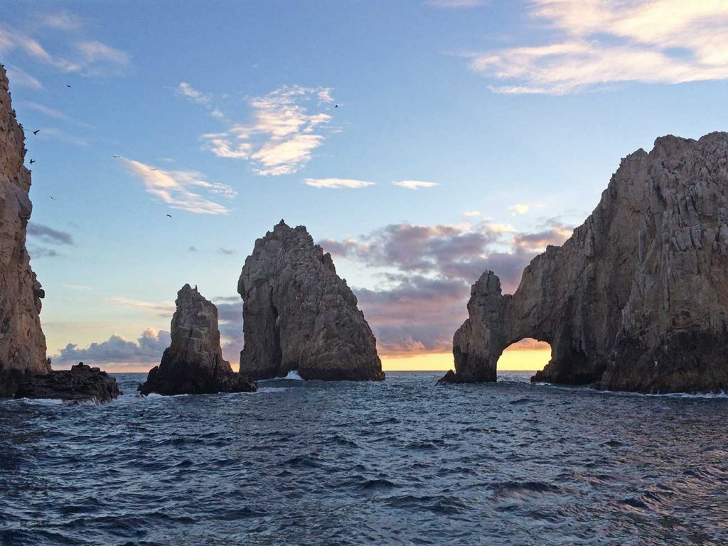 Cabo arch at sunset 2014