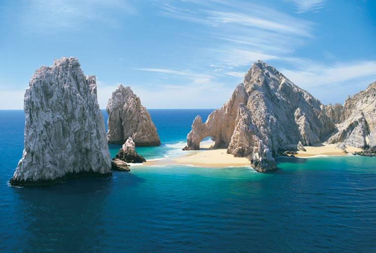 Land's End Cabo San Lucas. Photo © 1991 Joseph A. Tyson