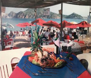 Margaritavilla Restaurant, Cabo San Lcuas, circa 1998. Photo by Franscisco Alcocer.