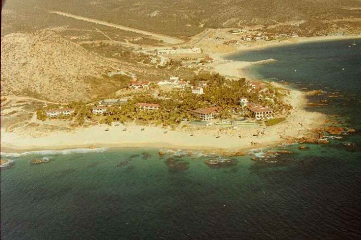 Hotel Palmilla San Jose del Cabo airstrip 1988. Photo Peterman