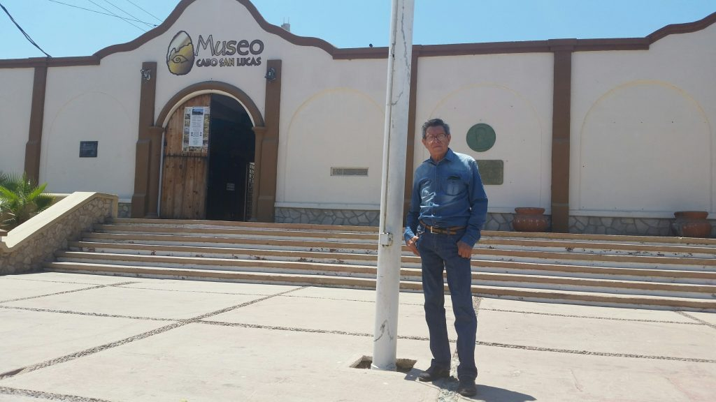 Roberto Cuetara, Director of the Museo de Historia Natural de Cabo San Lucas.