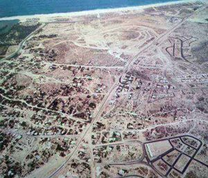 Aerial view of San Jose del Cabo in late 1970s