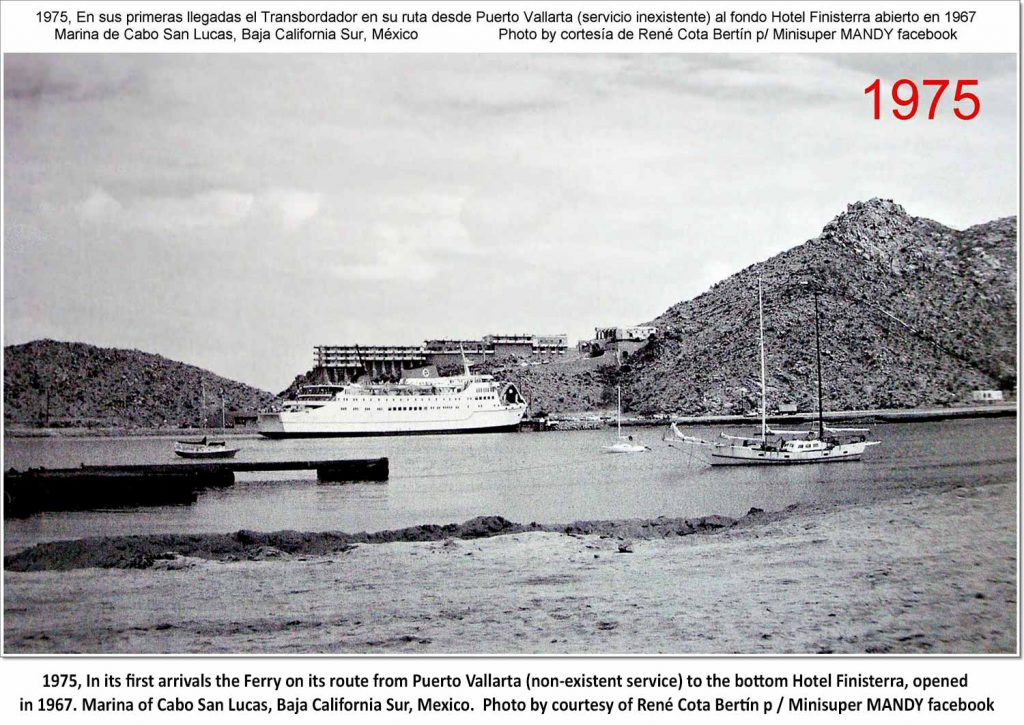 Puerto Vallarta Ferry Cabo Harbor 1975