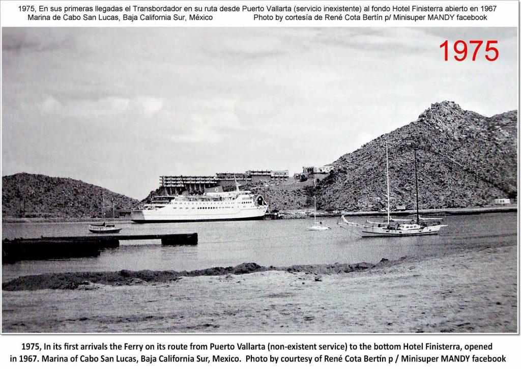 Puerto Vallarta Ferry Cabo Harbor 1975