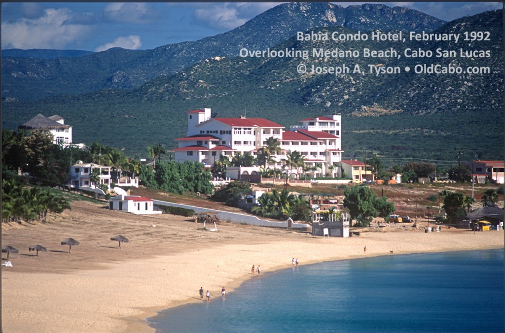 From Left Photo February 1992 Showing Bahia Condo Hotel Overlooking Medano Beach Cabo San Lucas Joseph A Tyson And